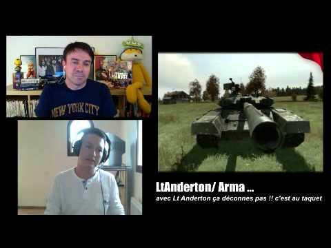 Voici l'émission 7 de Franck Guillaume ex de JVC sur : LtAnderton / Arma
