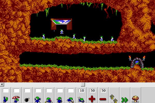 Voici plusieurs façon de jouer à Lemmings : Une version DHTML très bien réaliser et qui rappelle lapremière version de Lemmings dans les moindres détails. A vos souvenirs, va falloir […]