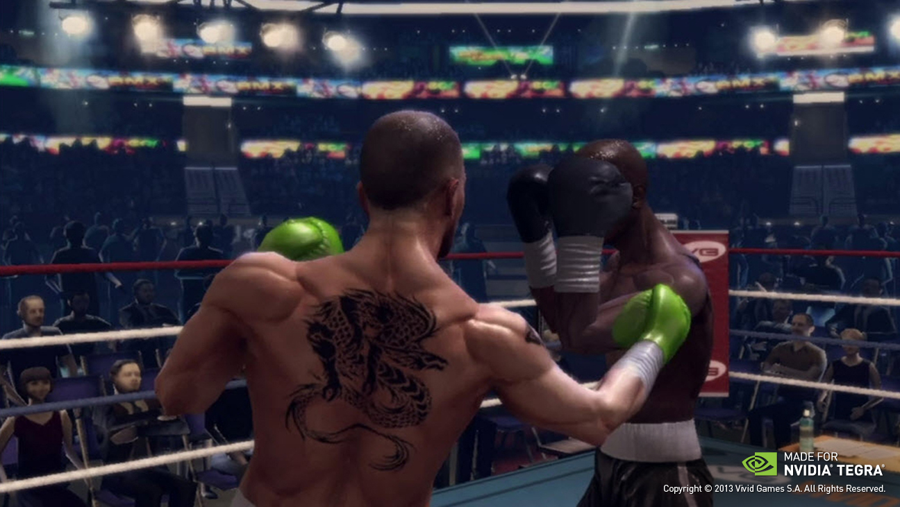 Real Boxing demo – Project SHIELD