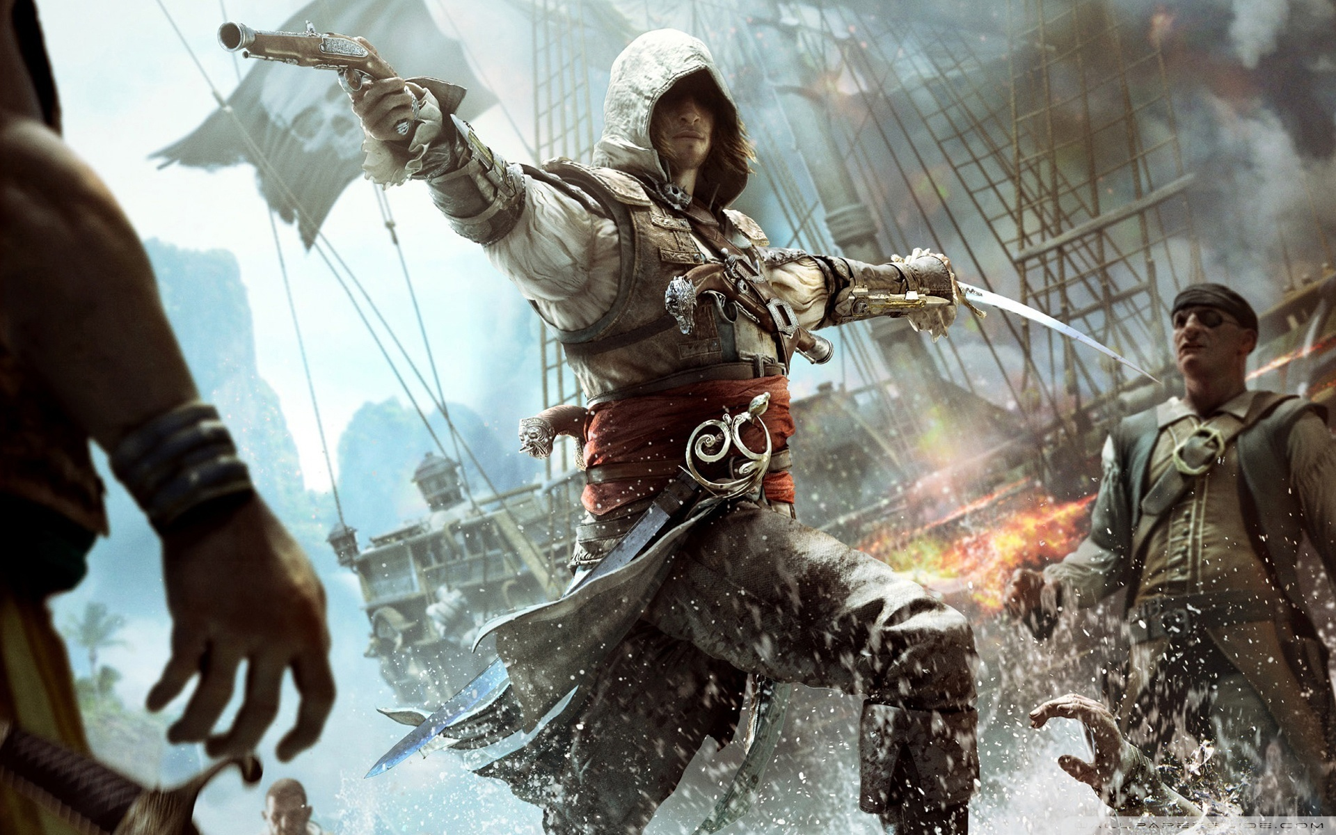 Bande Annonce de  Assassin's Creed 4 Black Flag
