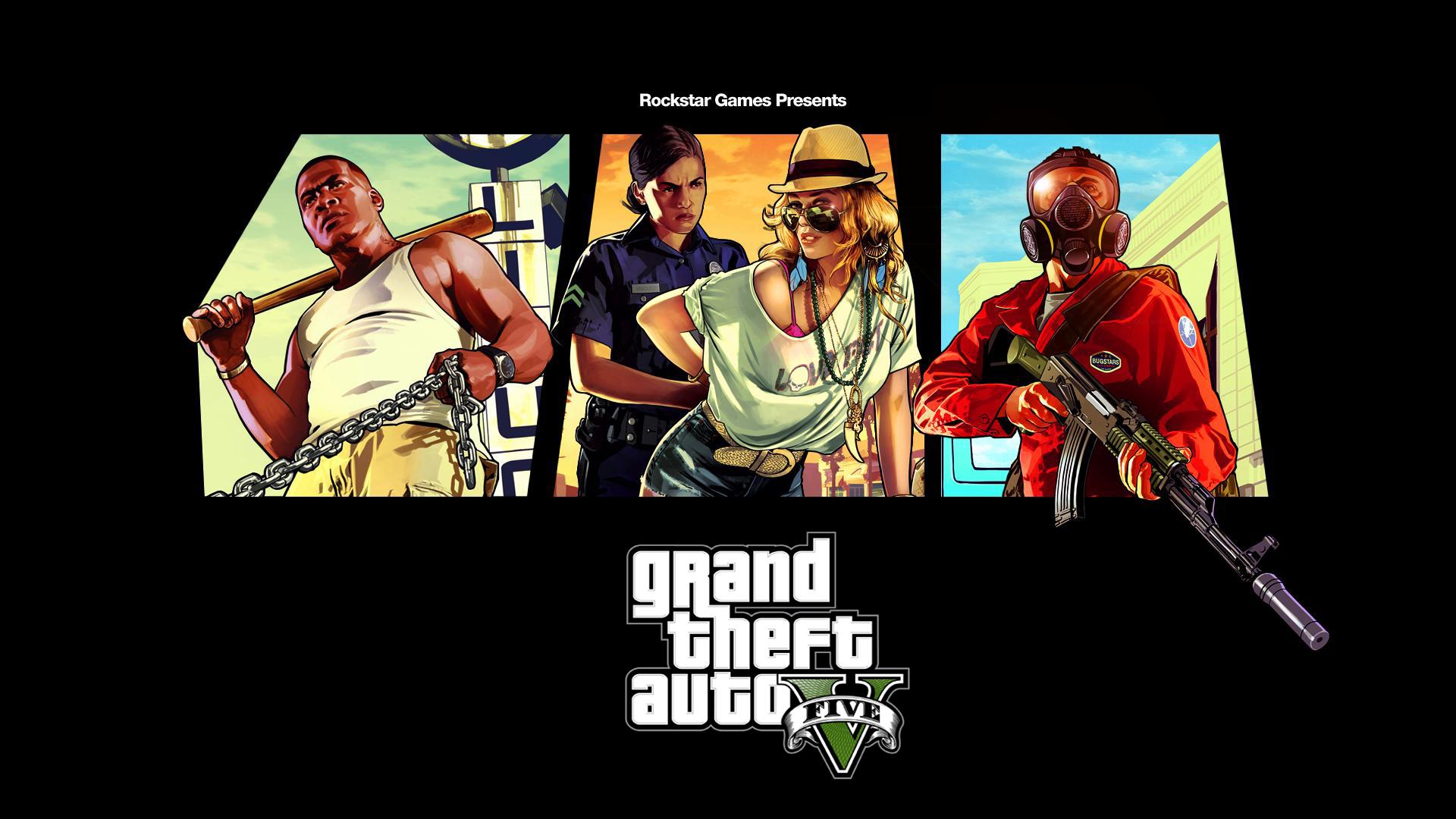 Grand Theft Auto V arrive