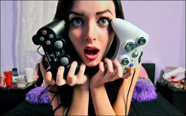 Les filles et les Jeux vidéo par WaRTeK