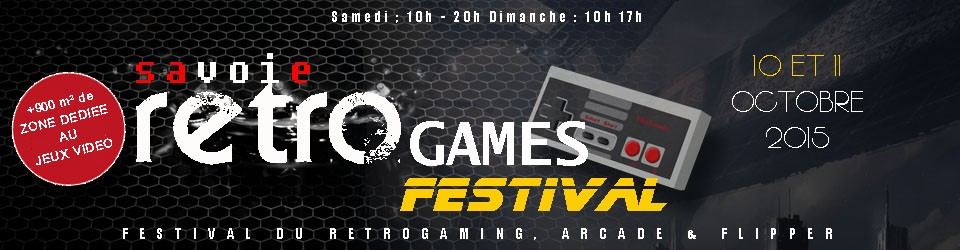 Savoie Retro Games Festival 2015