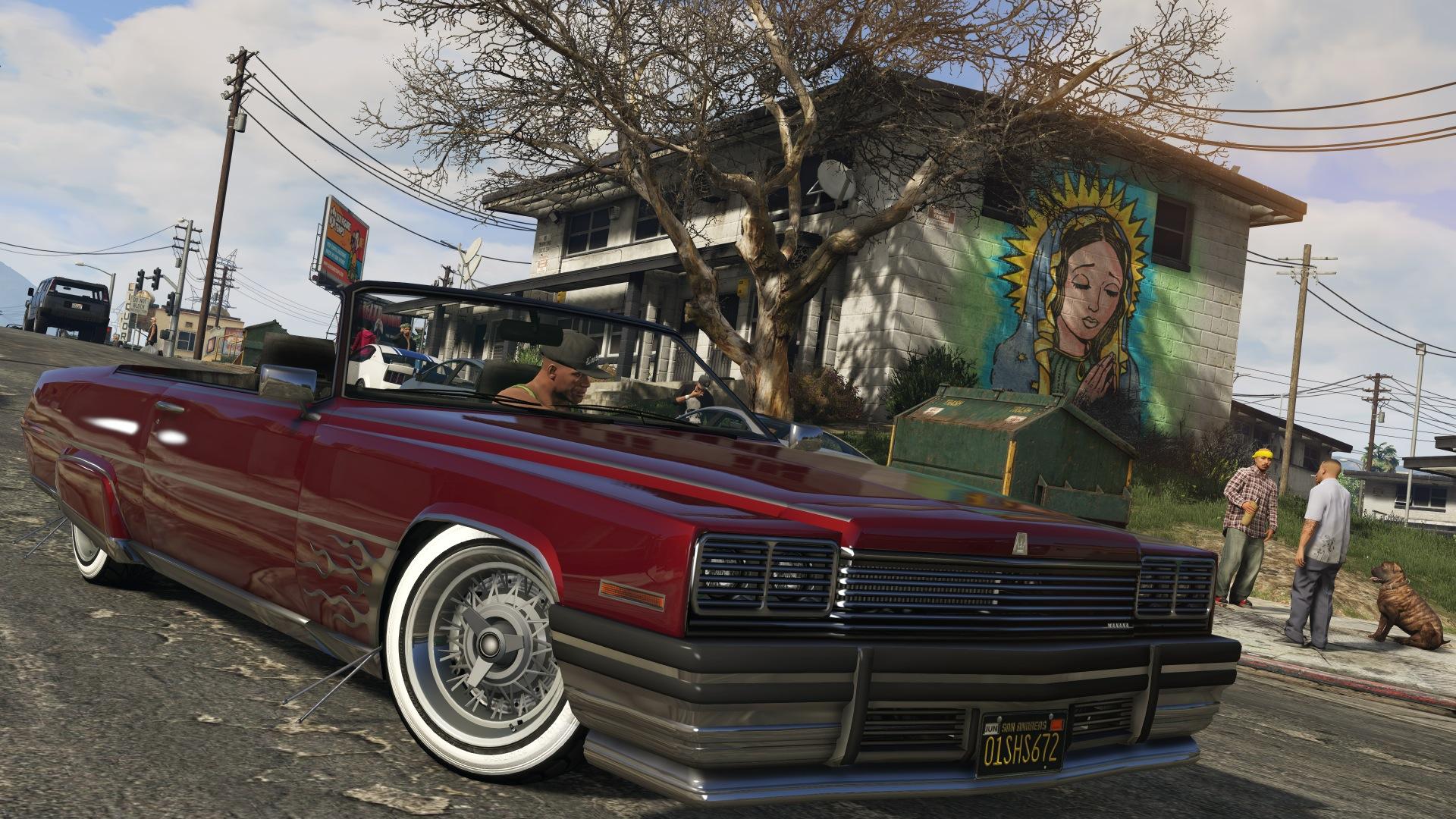 Grand Theft Auto V (GTA V) pour PC fond d'ecran