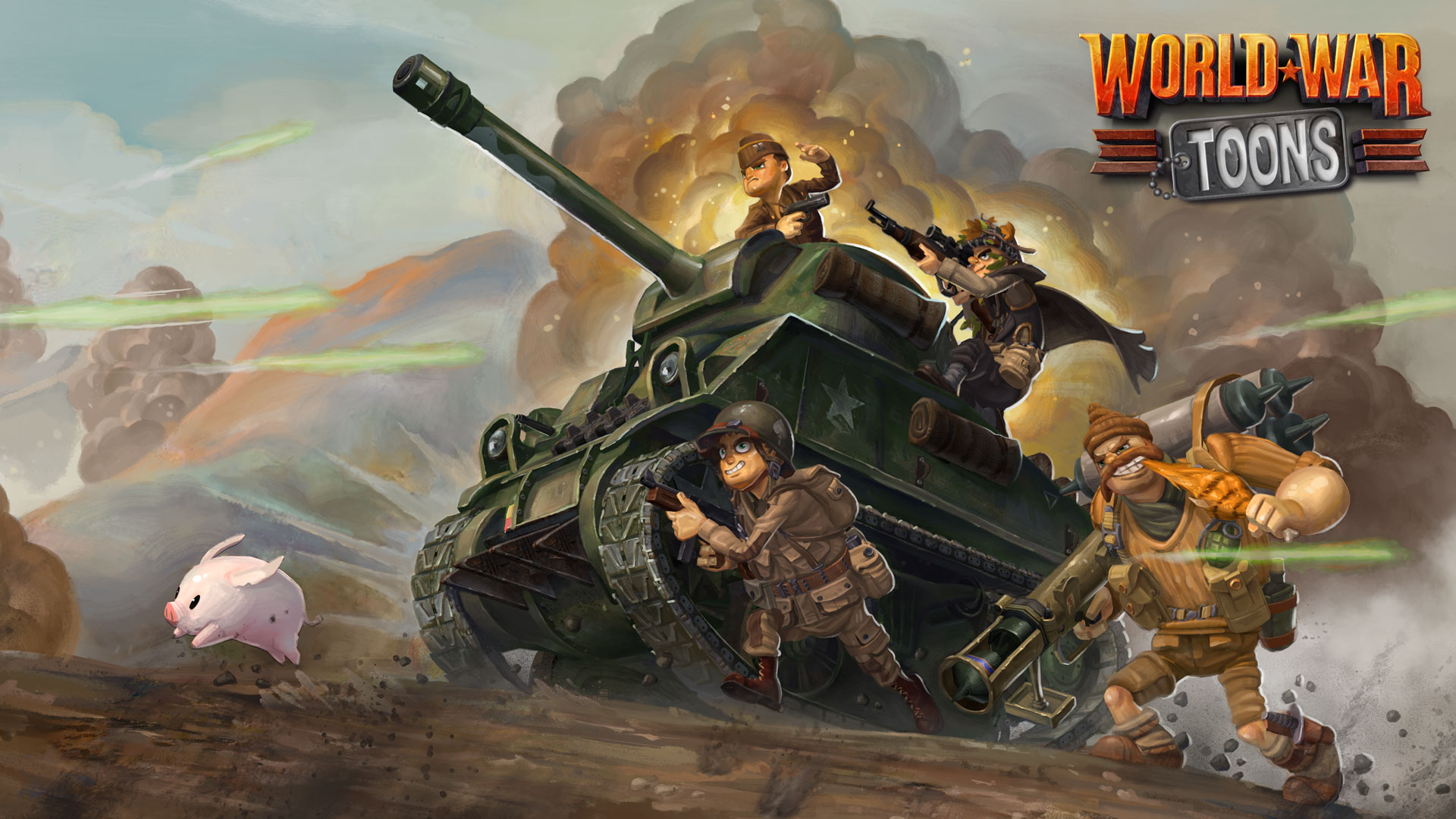 World War Toons bande annonce