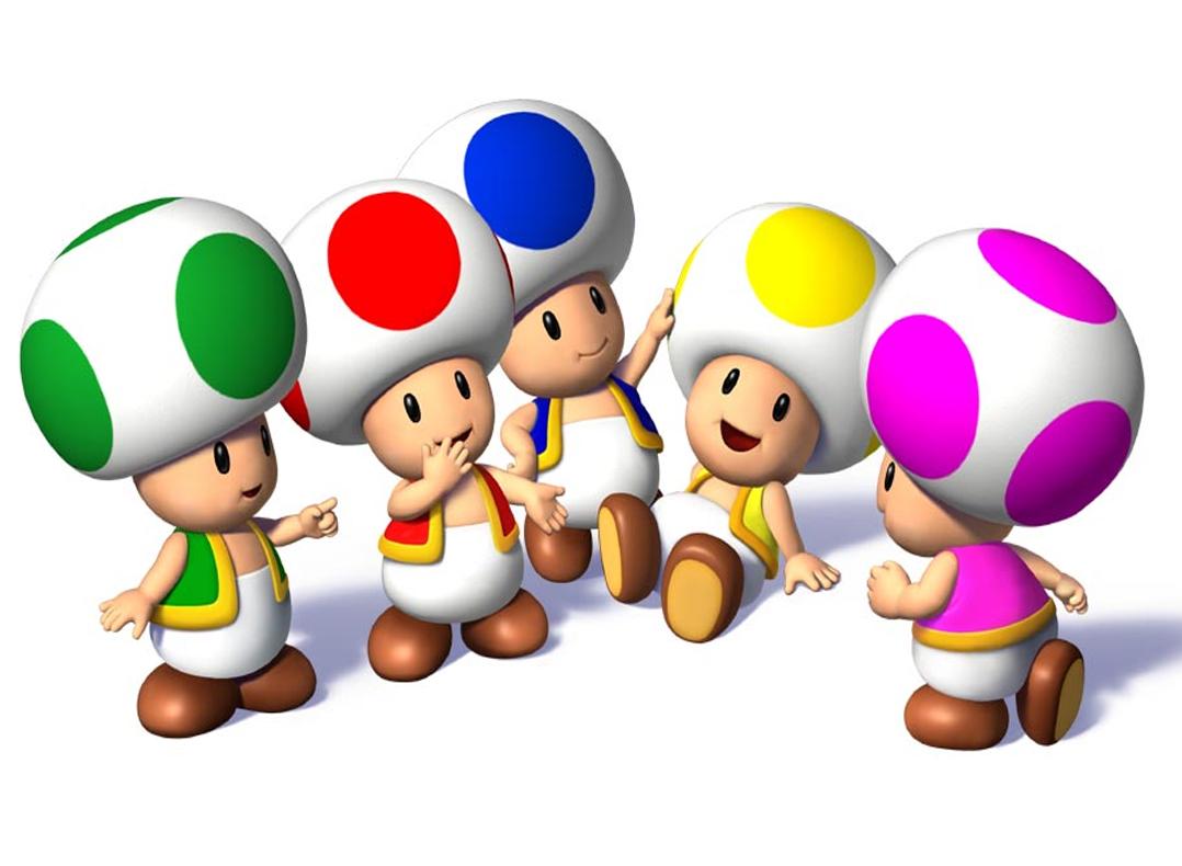 10 fond d'écran de Toad le champignon