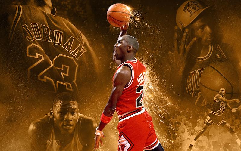 Michael Jordan. sur NBA :  NBA 2K16
