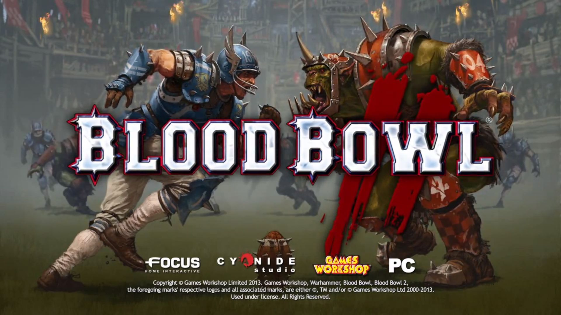 Blood Bowl 2 BANDE ANNONCE