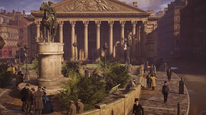 Quartier de la  Cité de Londres sur Assassin's Creed Syndicate