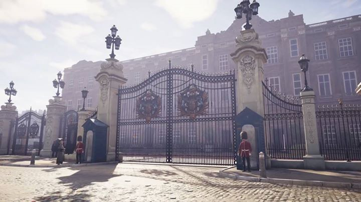 Quartier de  Westminster à Londres sur Assassin's Creed Syndicate