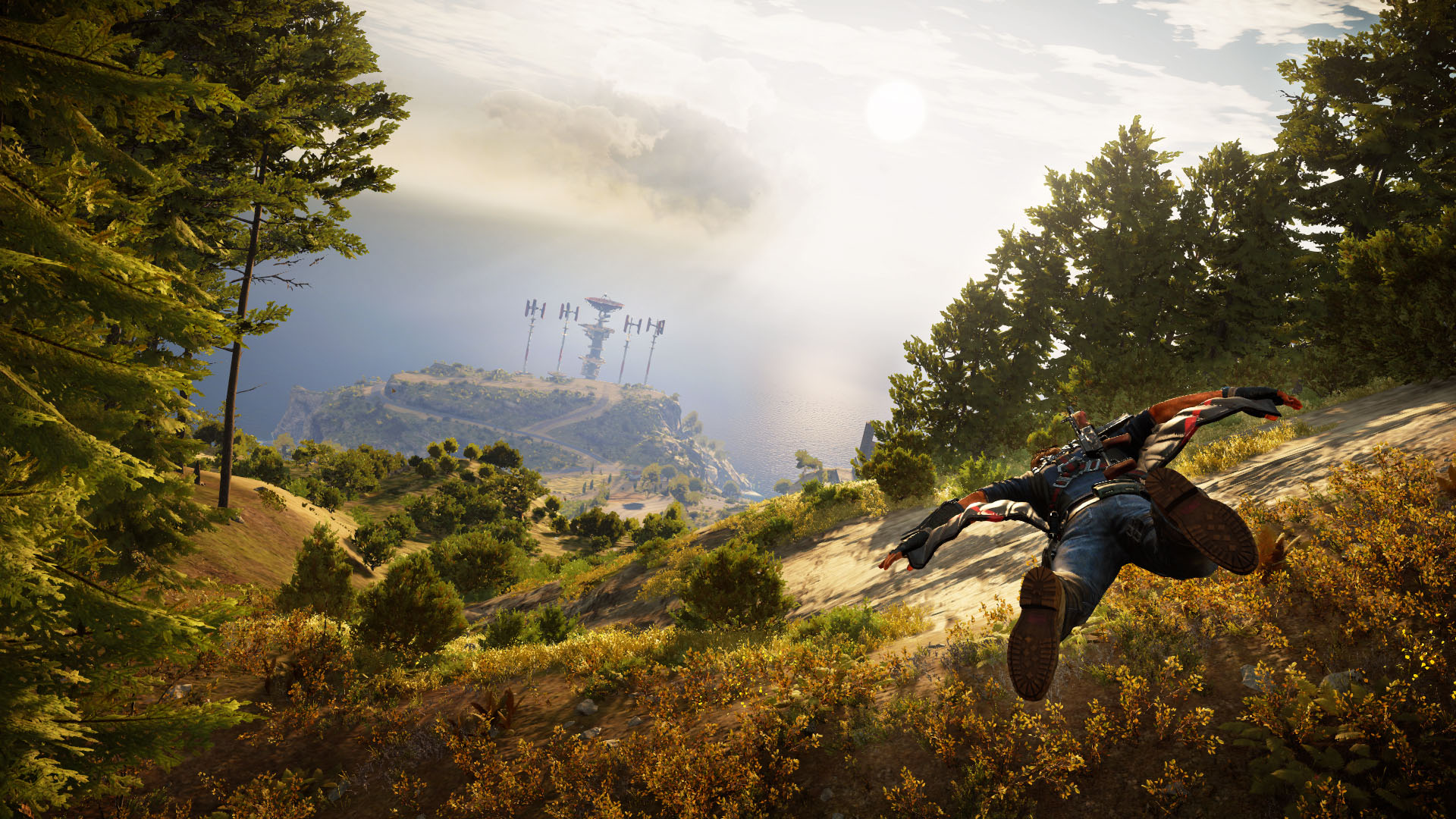 JUST CAUSE 3 immersion total dans la vidéo