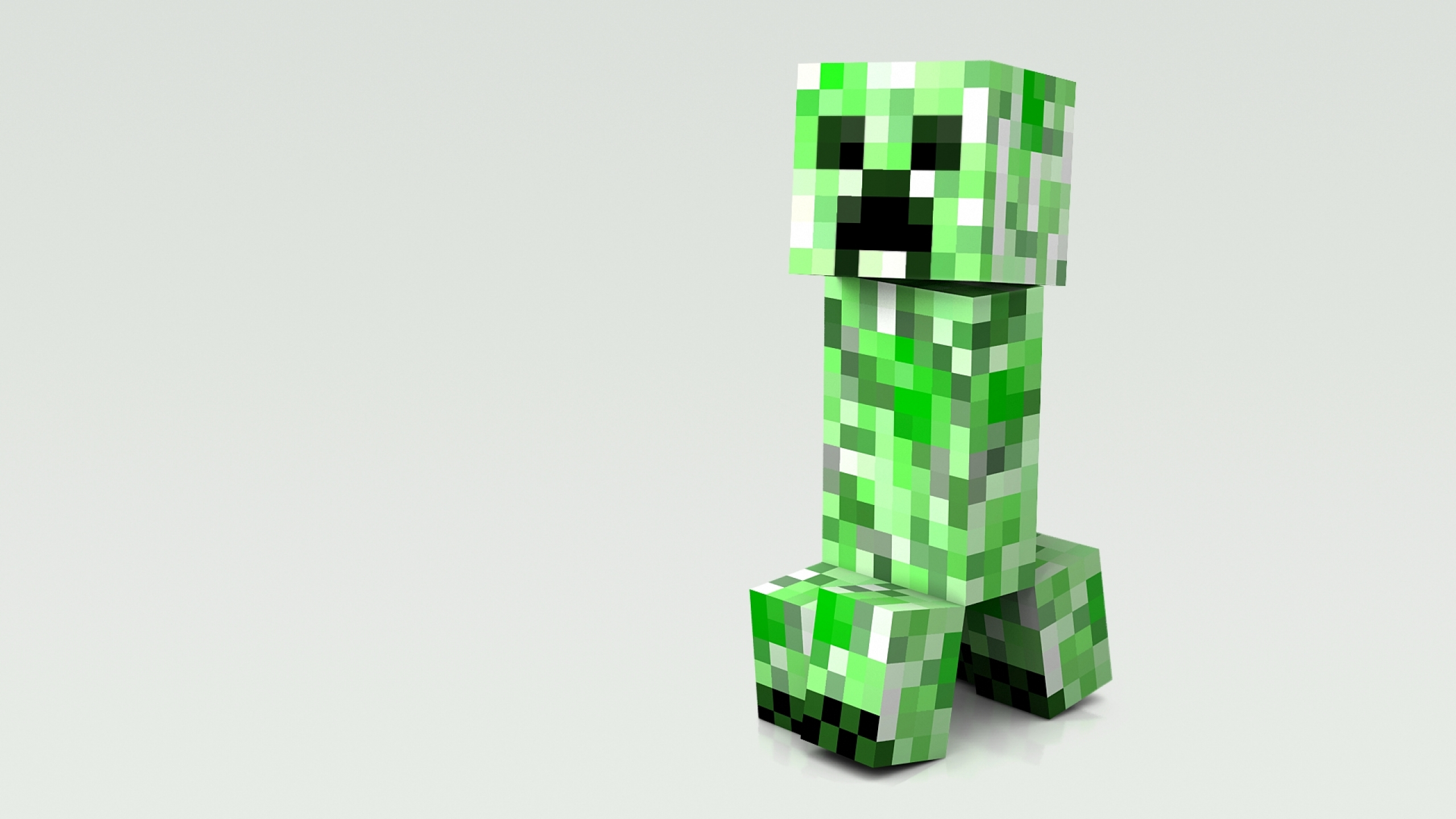 minecraft creeper fond ecran jeux video info. Black Bedroom Furniture Sets. Home Design Ideas