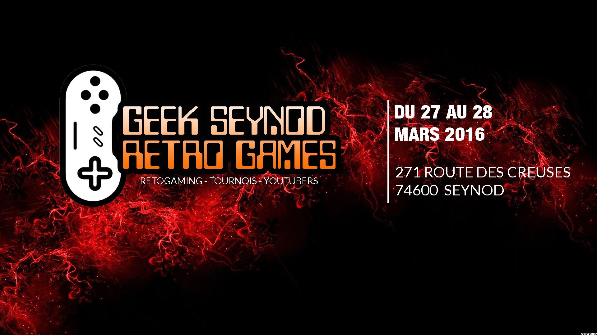 Geek Seynod Retro Game #1