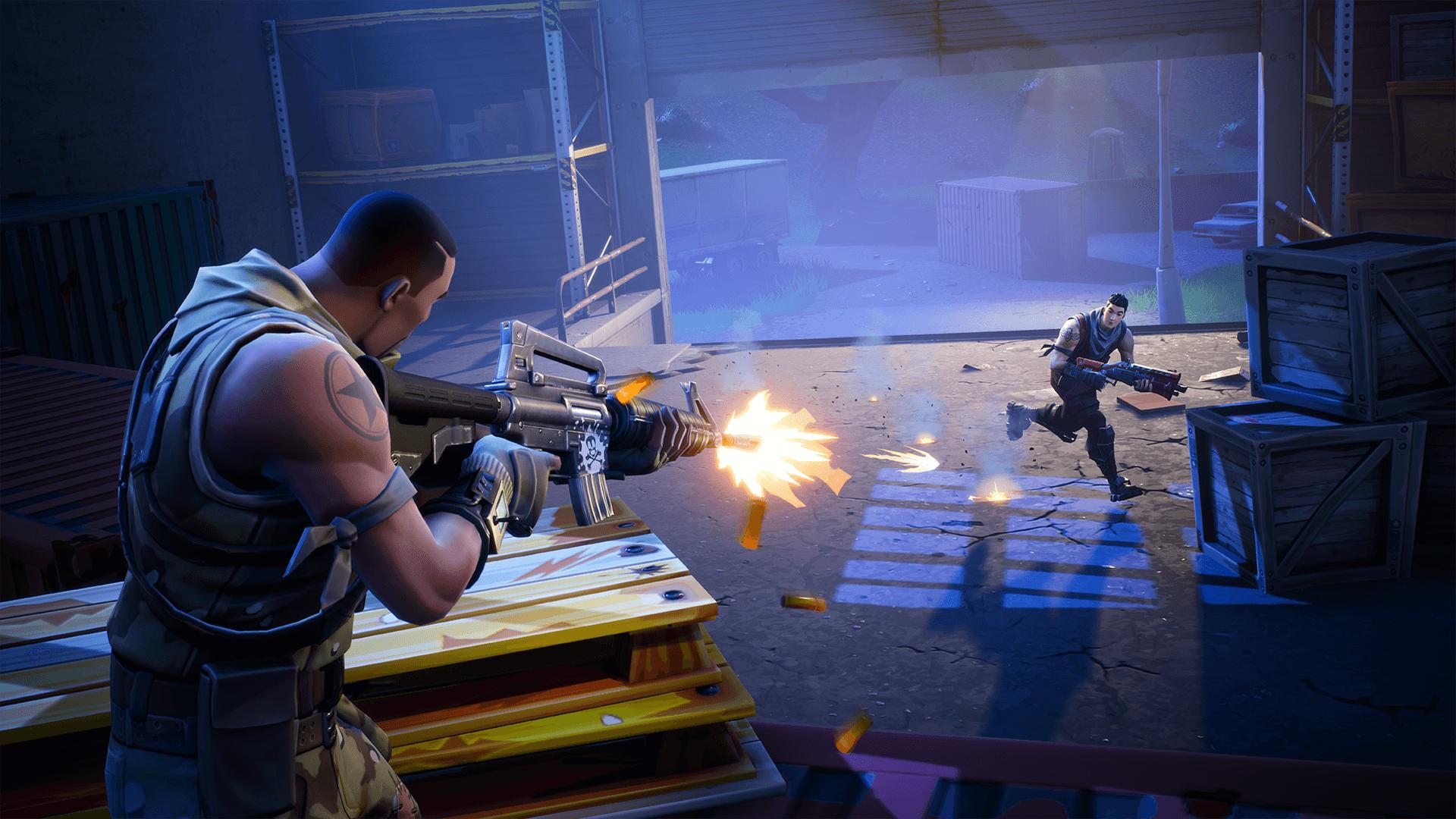 Fortnite Wallpaper Battle Royale Combat Fight Jeux Video Info
