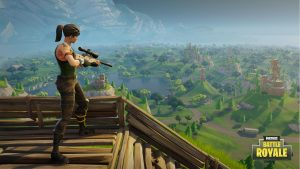 Fortnite Wallpaper Battle Royale Sniper Vision Jeux Video Info